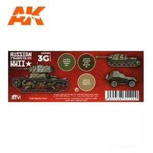 AK11665 WWII RUSSIAN STANDARD COLORS