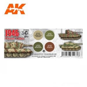 AK11669 1946 PANZER COLORS