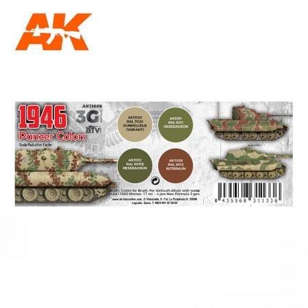 AK11669 1946 PANZER COLORS
