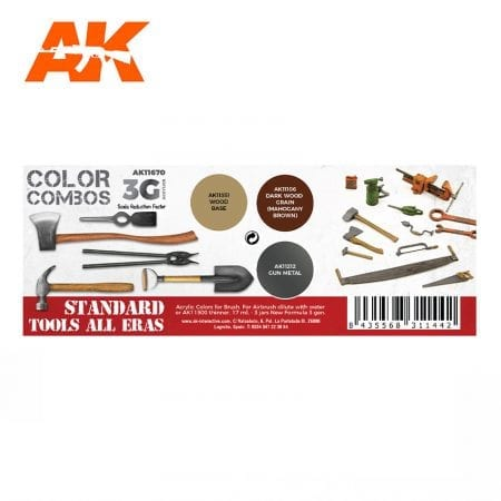AK11670 STANDARD TOOLS ALL ERAS