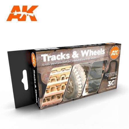 AK11672 TRACKS & WHEELS