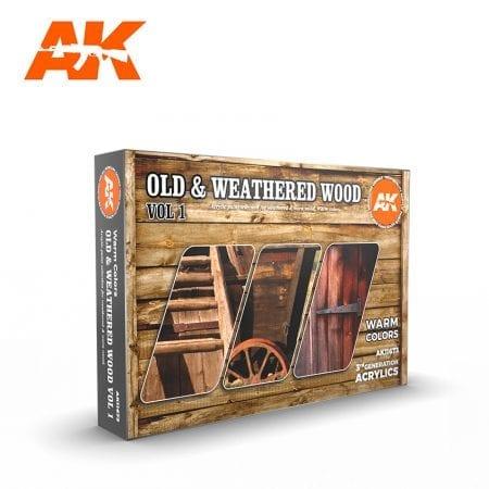 AK11673 OLD & WEATHERED WOOD VOL 1