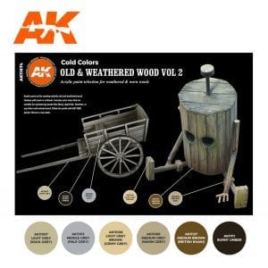 AK11674 OLD & WEATHERED WOOD VOL 2