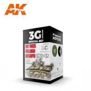 AK11675 US TANK COLORS EUROPE 1944-45