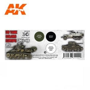 AK11675 US TANK COLORS EUROPE 1944-45