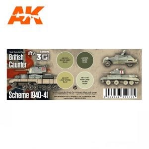 AK11676 BRITISH CAUNTER SCHEME 1940-41