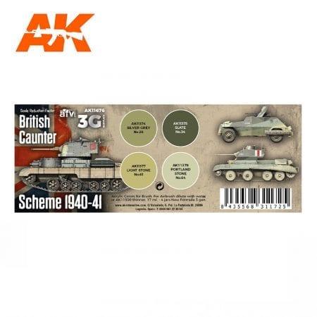 AK11676 BRITISH CAUNTER SCHEME 1940-41