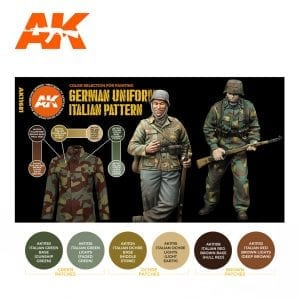 AK11681 GERMAN UNIFORM ITALIAN PATTERN