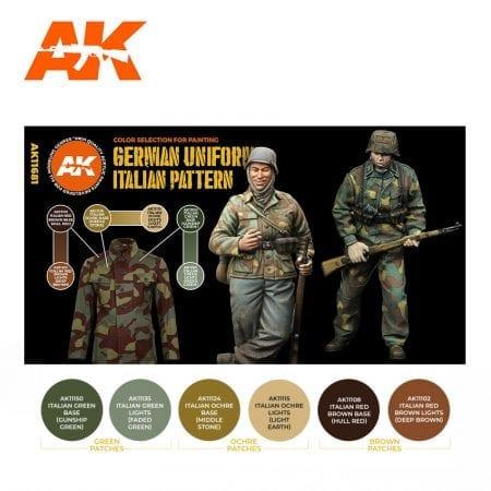 AK11681 GERMAN UNIFORM ITALIAN PATTERN
