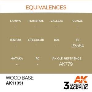 AK11351 WOOD BASE