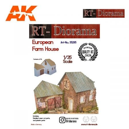 RTD35295 European Farm House