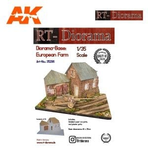 RTD35296 Diorama-Base: European Farm