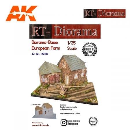 RTD35296 Diorama-Base: European Farm