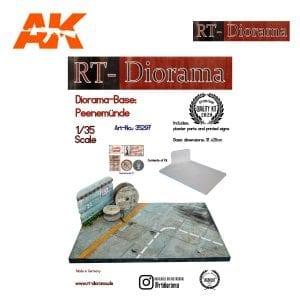 RTD35297 Diorama-Base: Peenemünde
