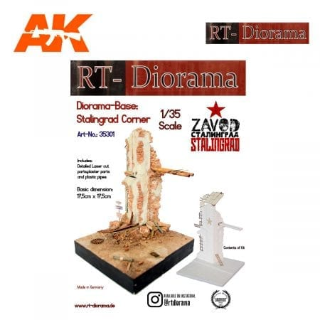 RTD35301 Diorama-Base: Stalingrad corner