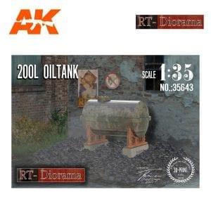 RTD35643 200L Oil Tank