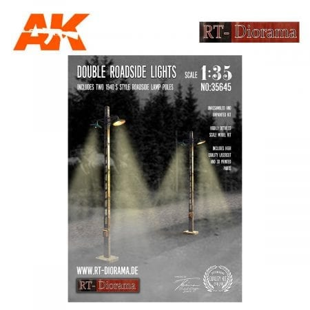 RTD35645 Double Roadside Lights