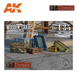 RTD35654 Wooden Crates