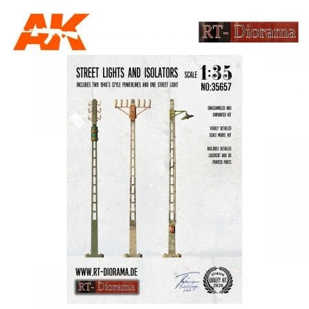 RTD35657 Street Lights and Isolators Set