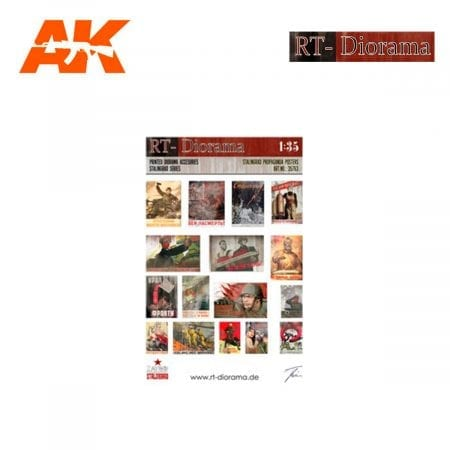 RTD35763 Printed Accesories: Stalingrad Propaganda Posters