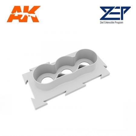 ZEP MS204 weathering holder x3