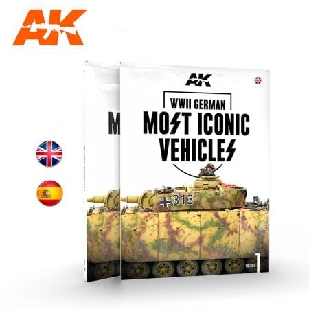 AK514 AK515 WWII GERMAN MOST ICONIC SS VEHICLES. VOLUME 1