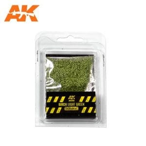 AK8155 BIRCH LIGHT GREEN LEAVES