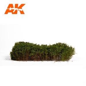 AK8166 SUMMER GREEN SHRUBBERIES