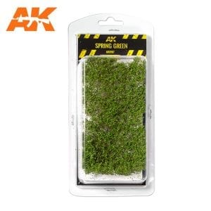 AK8167 SPRING GREEN SHRUBBERIES 1:35 / 75MM / 90MM