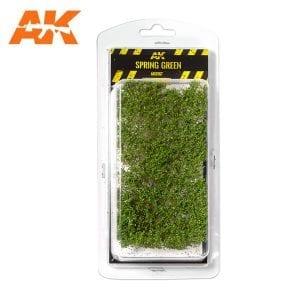 AK8167 SPRING GREEN SHRUBBERIES 1:35 / 75MM / 90MM