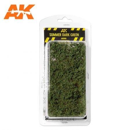 AK8168 SUMMER DARK GREEN SHRUBBERIES 1:35 / 75MM / 90MM