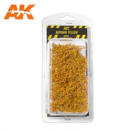 AK8169 AUTUMN YELLOW SHRUBBERIES 1:35 / 75MM / 90MM