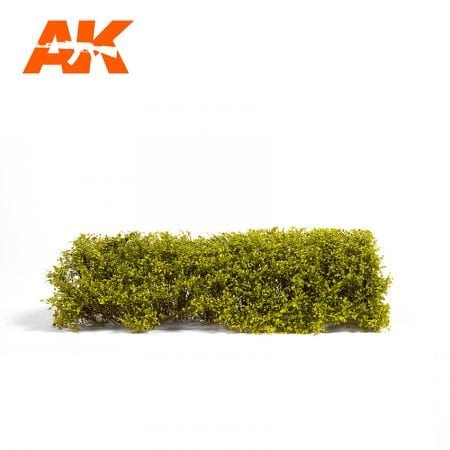 AK8171 SPRING LIGHT GREEN SHRUBBERIES 1:35 / 75MM / 90MM