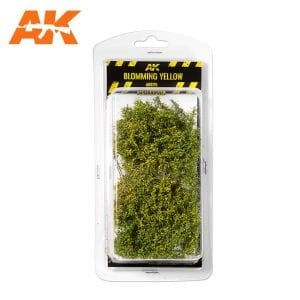 AK8175 BLOMMING YELLOW SHRUBBERIES 1:35 / 75MM / 90MM