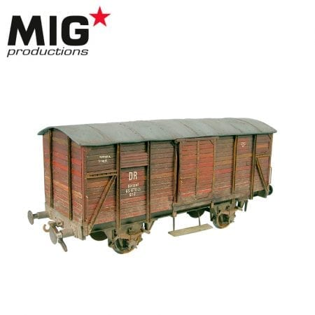 MP72-082 RAIL BOX WAGON RESIN KIT
