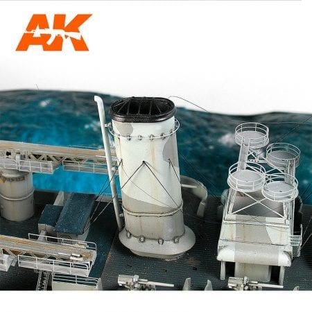 AK9134 Mega-thin Elastic Rigging Bobbin