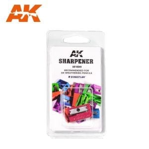 ak sharpener ak10049 weathering pencils