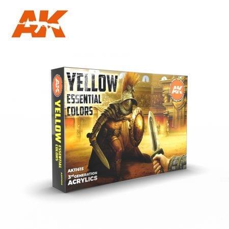 AK11615 YELLOW COLORS SET