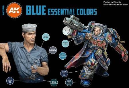 AK11618 BLUE UNIFORM COLORS TRAZ