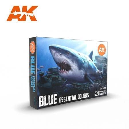 AK11618 BLUE ESSENTIAL COLORS 3GEN SET