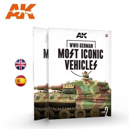 AK516 AK517 WWII GERMAN MOST ICONIC SS VEHICLES VOL.2