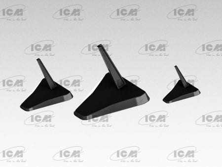 ICM A002 Aircraft Stand (2)