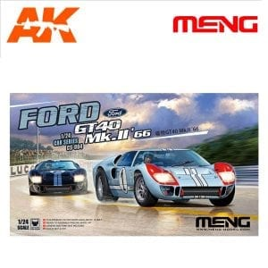 MM CS-004 akinteractive gt40 scale 1/24
