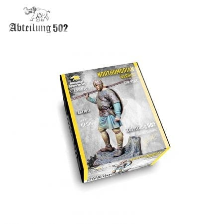 ABT1011 NORTHUMBRIAN WARRIOR 8TH-9TH C. 54mm Resin.