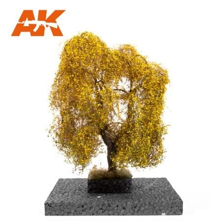 AK8186 WEEPING WILLOW AUTUMN 1:72 / ho