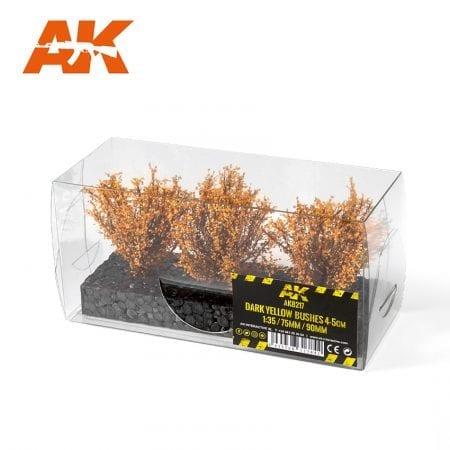 AK8217 DARK YELLOW BUSHES 4-5CM