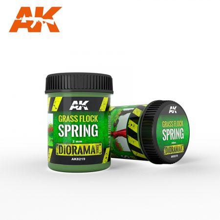 AK8219 spring grass flock