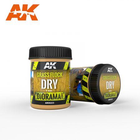 AK8223 grass flock dry